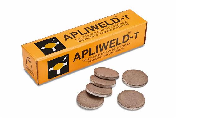 Tabletas para soldadura exotérmica Apliweld-T