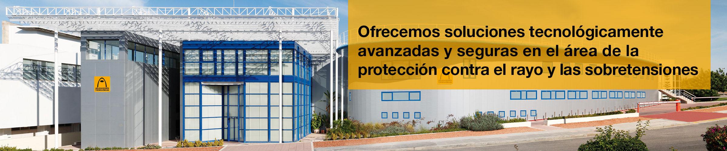 Sede principal de Aplicaciones Tecnológicas S.A. en Paterna, Valencia