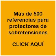 Más de 500 referencias para protectores de sobretensiones transitorias y permanentes