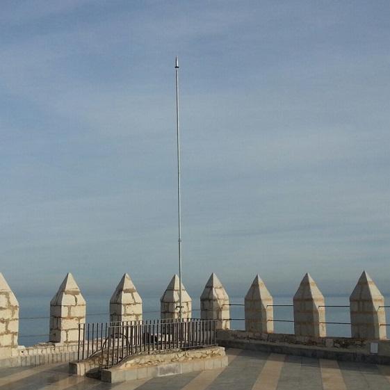 Aplicaciones Tecnológicas, S.A. protege el Castillo de Peñíscola contra el rayo