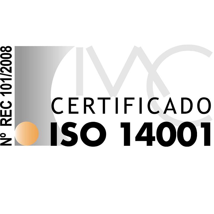 Certificado de gestión medioambiental ISO 14001