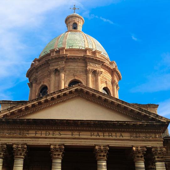 Aplicaciones Tecnológicas protege contra el rayo el Panteón Nacional de los Héroes en Paraguay