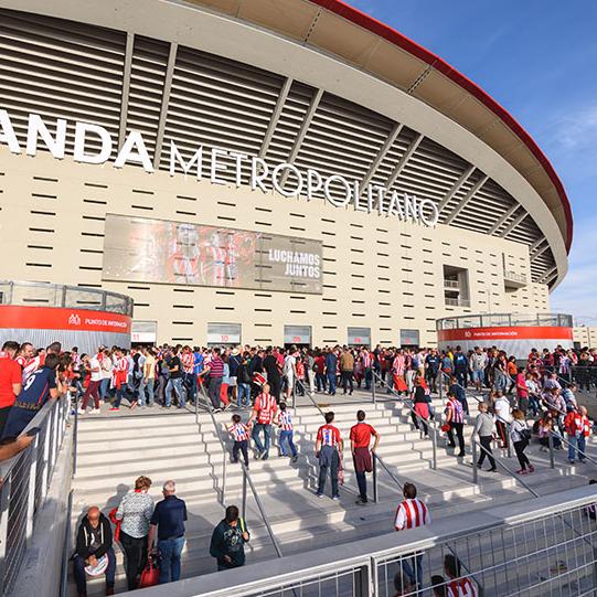 El nuevo estadio Wanda Metropolitano está protegido contra el rayo con nuestros pararrayos DAT Controler® Plus