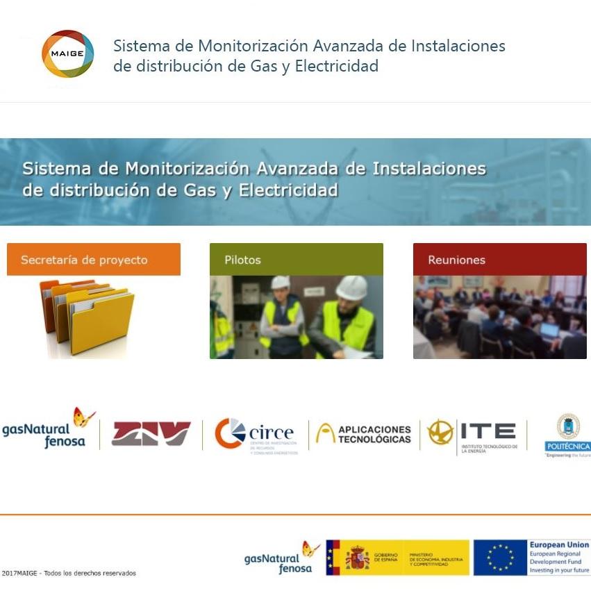 MAIGE, Sistema de Monitorización Avanzada de Instalaciones de distribución de Gas y Electricidad